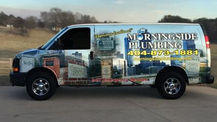 Morningside Plumbing Van
