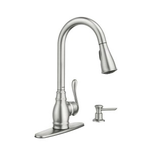 moen anabelle spot resist stainless faucet
