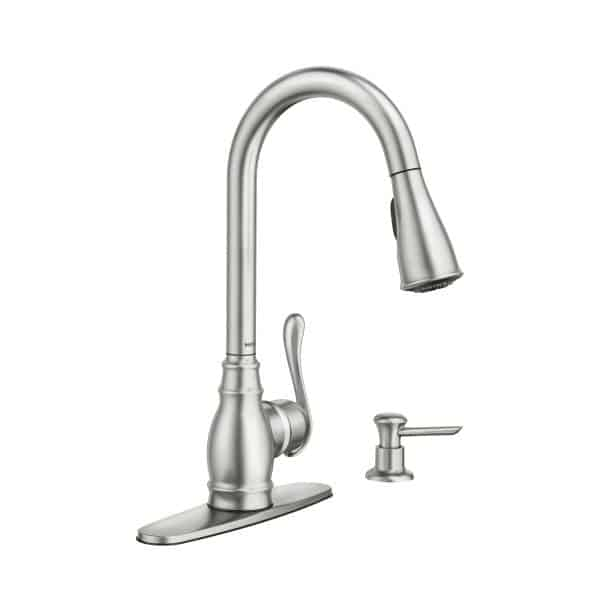 Moen Anabelle Spot Resist Stainless Faucet | Morningside Plumbing