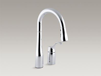 Kohler Simplice 2-Hole Kitchen Sink Faucet 14 | Morningside Plumbing