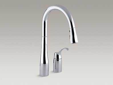 Kohler Simplice 2-Hole Kitchen Sink Faucet | Morningside Plumbing